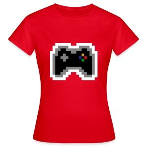 pixel controller - Frauen T-Shirt