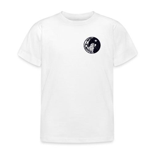 Børne-T-shirt - Børne tshirt med klassisk Hrimfaxa logo
