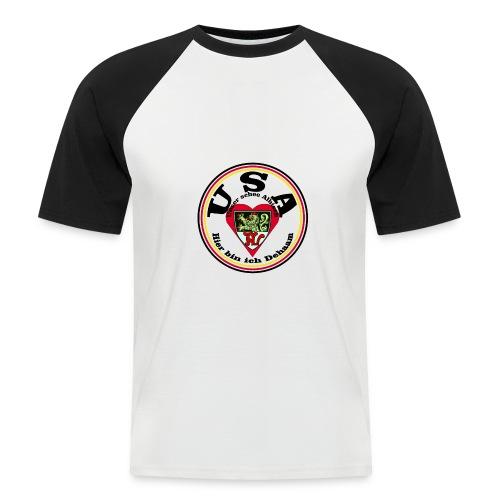 Heimatliebe Albig - Männer Baseball-T-Shirt