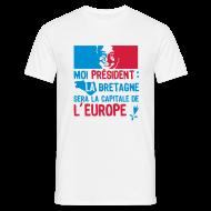 Tee shirts ~ Tee shirt Homme ~ La Bretagne Capitale de l'Europe