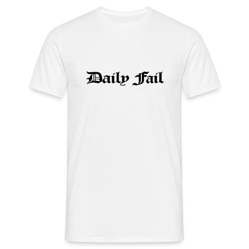 Daily Fail tshirt - Men's T-Shirt