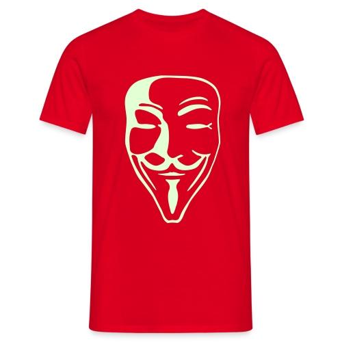 Spezial-Flexdruck, 19,4 cm x 29,8 cm - Männer T-Shirt