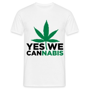 Yes we cannabis - Männer T-Shirt