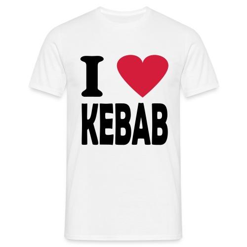 I Love Kebab - Männer T-Shirt
