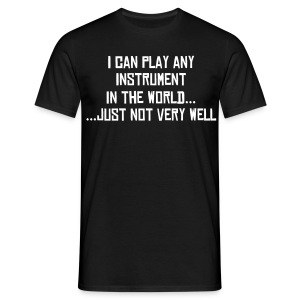 I can Play T-Shirt - Men's T-Shirt