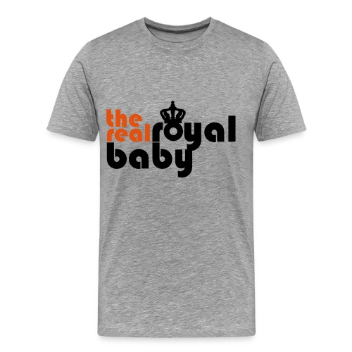 THE REAL ROYAL BABY - Men's Premium T-Shirt