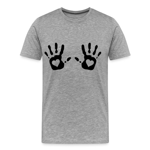 HANDS UP - Men's Premium T-Shirt