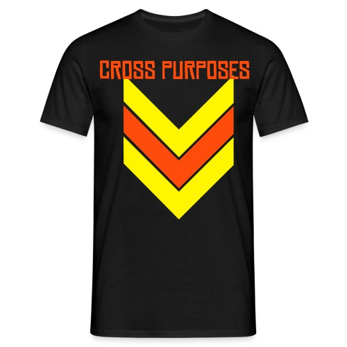 CROSS PURPOSES STATIC T LTD RAINBOW EDITION - Men's T-Shirt