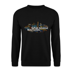 SAM Sweatshirt with Keyword Cloud - Men's Sweatshirt