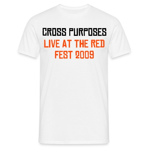 CROSS PURPOSES RED FEST T - Men's T-Shirt
