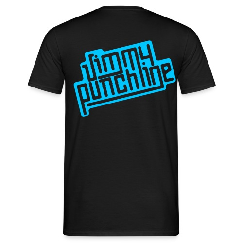 T-Shirt - Motif bleu pour homme - T-shirt Homme