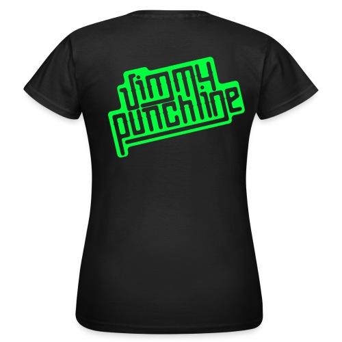 T-Shirt - Motif vert pour femme - T-shirt Femme