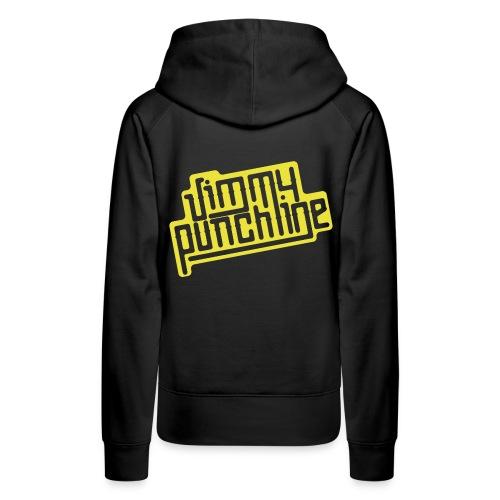 Sweat à capuche - Motif jaune pour femme - Sweat-shirt à capuche Premium pour femmes