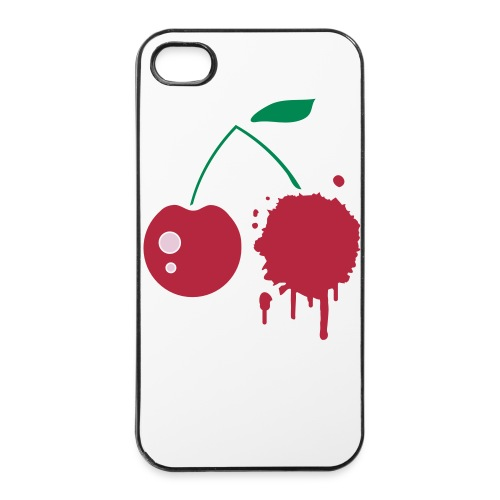 Cherry Graffiti iphone 4/4s Hard Case - iPhone 4/4s Hard Case