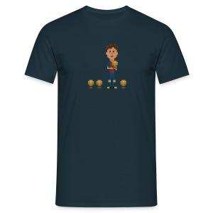 Men T-Shirt - Four golden balls - Men's T-Shirt