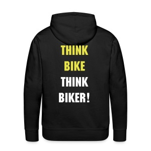 Think bike Think Biker hoody - Men's Premium Hoodie