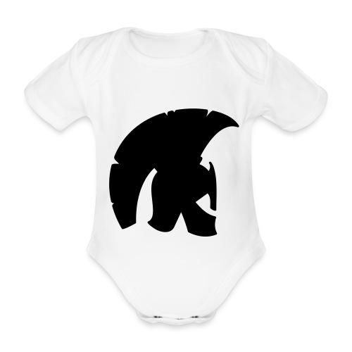 Body piccolo Spartano - Body ecologico per neonato a manica corta