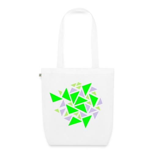Tasche Dreiecke - Bio-Stoffbeutel
