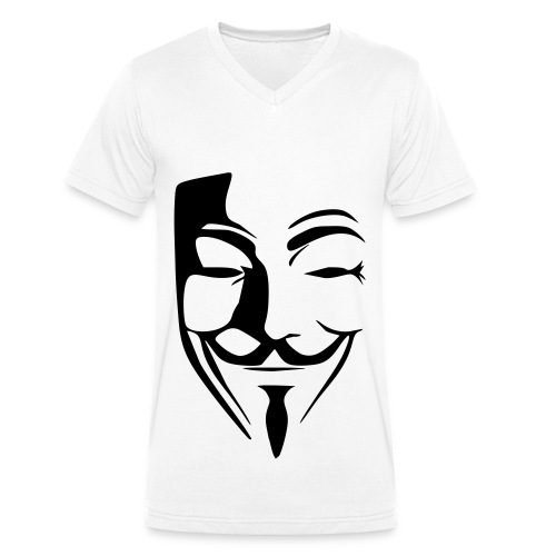 Anon Tee shirt - T-shirt bio col V Stanley & Stella Homme