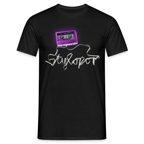 Tape Invert (lila) - Männer T-Shirt