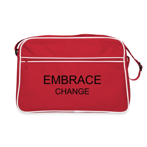 Embrace a Change - bag - Retro Bag
