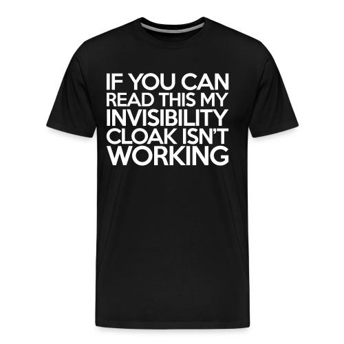 Invisibility cloak - Premium T-skjorte for menn