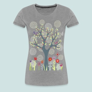 The Garden - Women's Premium T-Shirt
