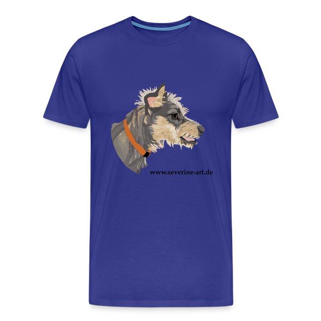 Hundekopf mit Iro