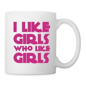 I like girls who like girls - Tazza