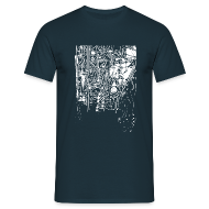 T-Shirts ~ Men's T-Shirt ~ CircuitWhite T