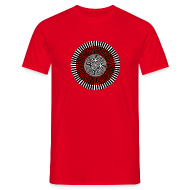 T-Shirts ~ Men's T-Shirt ~ OpArtRed T