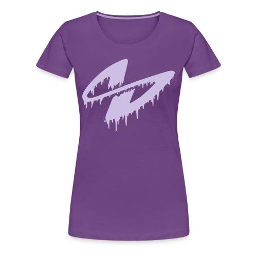 S (flieder) - Frauen Premium T-Shirt