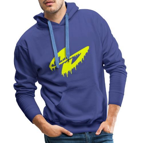 S (gelb) - Männer Premium Hoodie