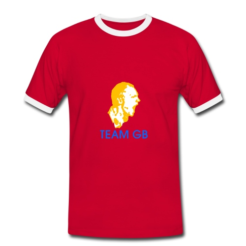 Team GB (Trim) - Men's Ringer Shirt