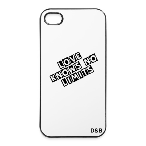 iPhone 4/4s Case mit D&B Logo - iPhone 4/4s Hard Case
