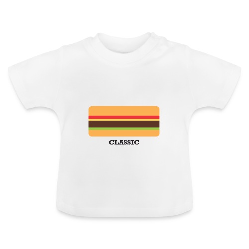 Classic Burger Baby Tee - Baby T-Shirt