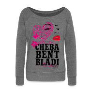 Sweat-shirts ~ Pull Femme col bateau de Bella ~ Cheba Bent Bladi