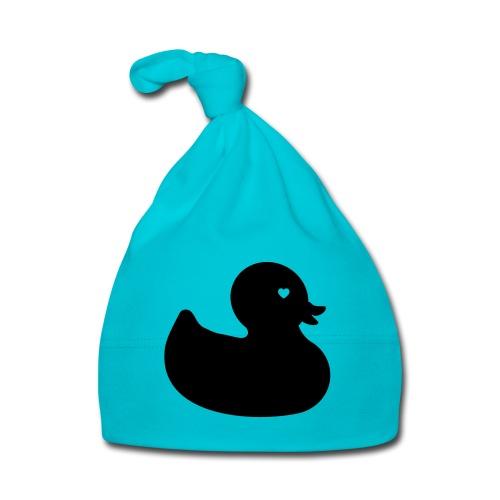 Ente mit Herz - Babymütze - Baby Mütze