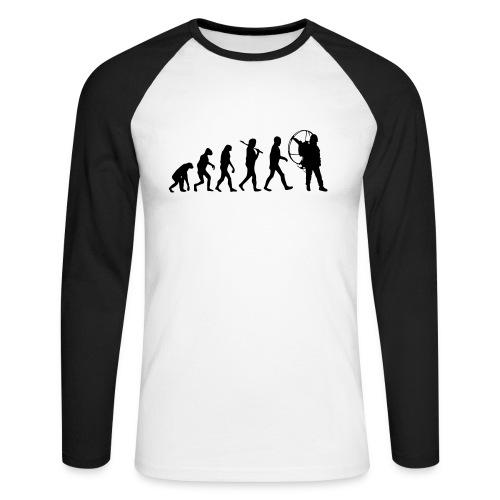 Evolution Long arm - Männer Baseballshirt langarm
