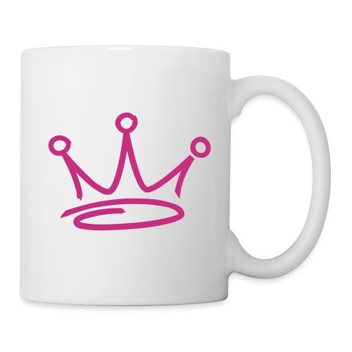 UNDERgROUND PROD  MUG CROWN PINK - Mug blanc