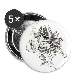 PIRATE - Badge petit 25 mm