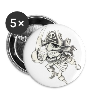 PIRATE - Badge petit 25 mm