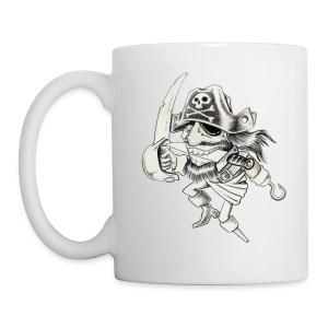 PIRATE - Mug blanc
