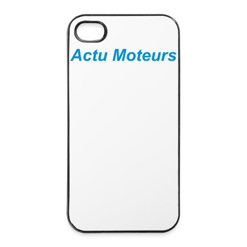 Coque iPhone 4s/4 Actu Moteurs - Coque rigide iPhone 4/4s