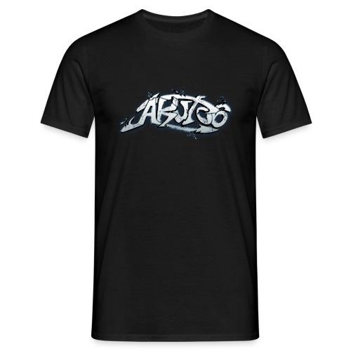 Akut06 Logo 1 T-Shirt schwarz - Männer T-Shirt