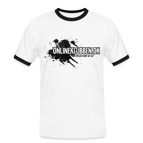 Klub LOGO - Herre kontrast-T-shirt