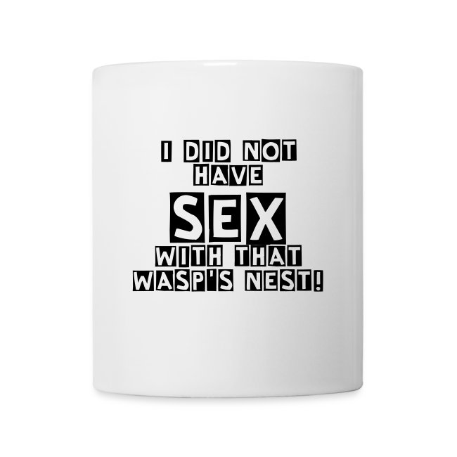 Sex med getingbo Mugg/ Sex with wasp's nest Mug