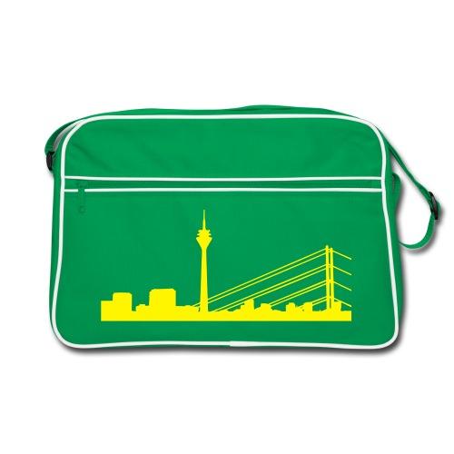 Skyline Retro Bag Braun - Retro Tasche