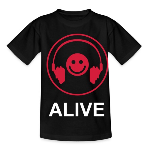 T-shirt Enfant Smiley Mix Alive Original - T-shirt Ado