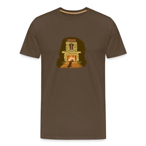 fireplace - Männer Premium T-Shirt